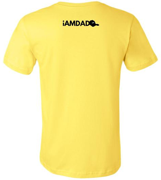 i am dad 365 yellow t-shirt