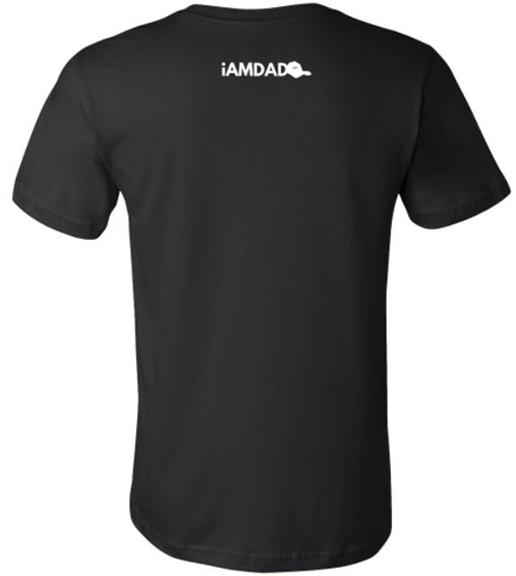 I am dad black t-shirt