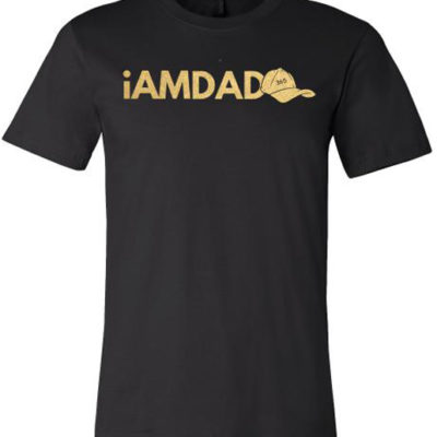 i am dad 365 black & gold t-shirt
